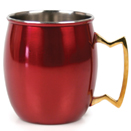 20 OZ. MULE MUG, RED FINISH