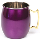 20 OZ. MULE MUG, PURPLE FINISH