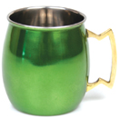 20 OZ. MULE MUG, GREEN FINISH
