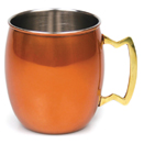 20 OZ. MULE MUG, ORANGE FINISH