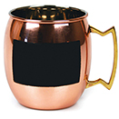 MULE MUG, 20 OZ., PURE COPPER WITH BRASS HANDLE, CUSTOMIZABLE