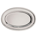 NOBLESSE OVAL TRAYS, OVAL, 18/10 STAINLESS STEEL