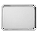 NOBLESSE OBLONG TRAYS, 18/10 STAINLESS STEEL
