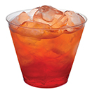 OLD FASHIONED TUMBLERS, CLEAR, DISPOSABLE PLASTIC, PKG/500