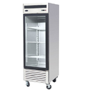 BOTTOM MOUNT ONE GLASS DOOR FREEZER, 21 CU. FT., 27