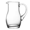 11 3/4 OZ CREAMER/MINI PITCHER, GLASS, HANDMADE, CASE OF 6 EACH