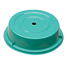 GREEN POLYETHYLENE PLATE COVER, 10 5/16