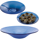 PRESENTATION BOWLS, GLACIER BLUE GLASS