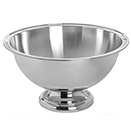 PUNCH BOWL, 2.5 GAL., 18/8 STAINLESS  STEEL