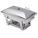 ORION<SUP>®</SUP> RECTANGULAR CHAFERS, LIFT OFF LID, STAINLESS