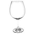 25 OZ RED WINE GLASS, POLYCARBONATE, CLEAR