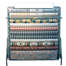 DISPLAY RACK WITH 11 ROLL, METAL