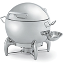 ROUND SOUP CHAFER, HINGED LID, STAINLESS