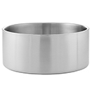 SERVING BOWLS, DOUBLE WALL, SATIN FINISH STAINLESS - 156 OZ., 10