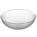 SERVING BOWLS, PEBBLED FINISH POLYCARBONATE