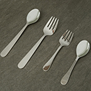 18/10 STAINLESS STEEL SERVING FORKS & SPOONS