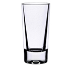 1 1/2 OZ SHOT GLASS, HEAVY BASE, POLYCARBONATE, CLEAR