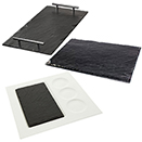 SERVING / DISPLAY TRAYS, SLATE