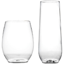 STEMLESS DISPOSABLE GLASSES