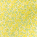 FLANNEL BACK TABLECLOTH, YELLOW FLORAL, 54