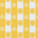 FLANNEL BACK TABLECLOTH, TAVERN CHECK YELLOW, 54