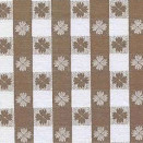 FLANNEL BACK TABLECLOTH, TAVERN CHECK BROWN, 54