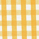 FLANNEL BACK TABLECLOTH, CHESS CHECK YELLOW, 54