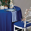 TABLECLOTHS, 100% SPUN FORTREL POLYESTER