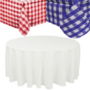 VINYL TABLECLOTHS WITH FLANNEL BACK - 70