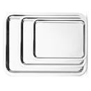SOPRANO TRAYS, 18/8 STAINLESS STEEL