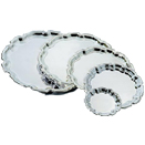 STAINLESS PLAIN CENTER CHIPPENDALE TRAYS