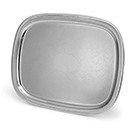 ELEGANT REFLECTIONS™ OBLONG GADROON TRAY, 18/8 STAINLESS