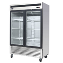 BOTTOM MOUNT TWO GLASS DOOR REFRIGERATOR, 47.1 CU. FT., 54.4