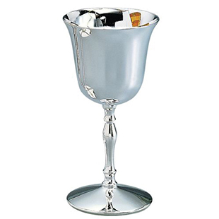 Water Goblet, Nickelplated | Caterer's Warehouse