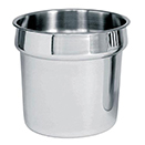 SOUP MARMITE CHAFERS, LIFT OFF LID, 18/8 STAINLESS - WATER PAN FOR CHSS-175 AND CH-3850