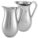WATER PITCHERS, 64 OZ., DOUBLE WALL, STAINLESS STEEL