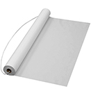 WHITE AISLE RUNNER, DISPOSABLE PLASTIC, SET/6