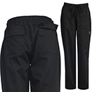 WOMEN'S CHEF PANTS, BLACK