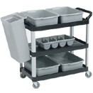 3 TIER MULTI PURPOSE CART, 33