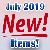 New Items Release July 2019