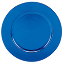 ACRYLIC CHARGER PLATE, BLUE