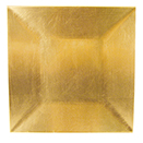ACRYLIC SQUARE CHARGER PLATE, GOLD