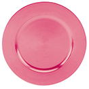 PINK CHARGER PLATE, 13