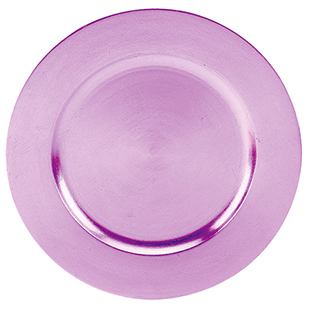 Purple Charger Plate 13 Quot Round Acrylic Buy Purple