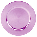 ACRYLIC CHARGER PLATE, PURPLE