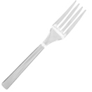 CLEAR PLASTIC FORKS (DISPOSABLE)
