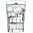 10.25 DRINKING GLASS, CASE OF 4 DOZ