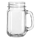 16.75 OZ. MASON JAR GLASS, CASE/1 DOZ