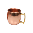 2 OZ MINI MULE MUG/SHOT, COPPER, CASE OF 2 EACH