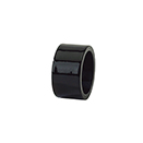 BLACK NAPKIN RING, ACRYLIC, CASE/1 DOZ.